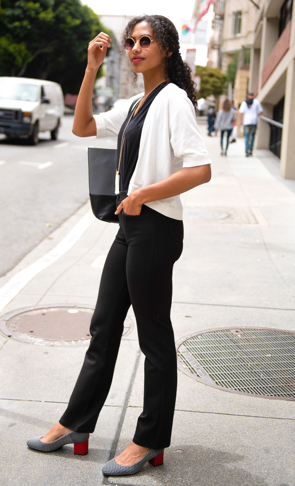 5f0d780b533e9 Boot-Cut | Jean-Style Dress Pant Yoga Pants | Wrinkle-Resistant, 4 ...