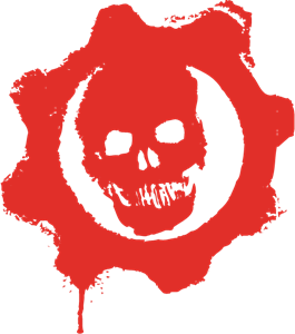 Gears Of War Logo Vector Download Free Gears Of War Vector Logo And Icons In Ai Eps Cdr Svg Png Formats In 2021 Gears Of War Vector Logo War Tattoo
