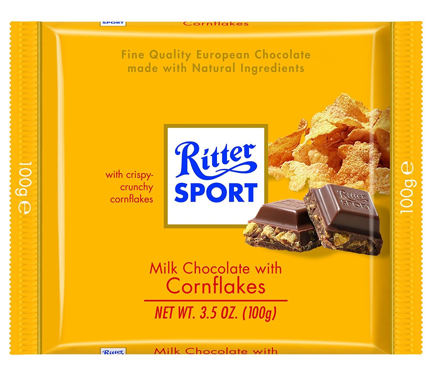 Ritter Sport, Milk Chocolate with Corn Flakes