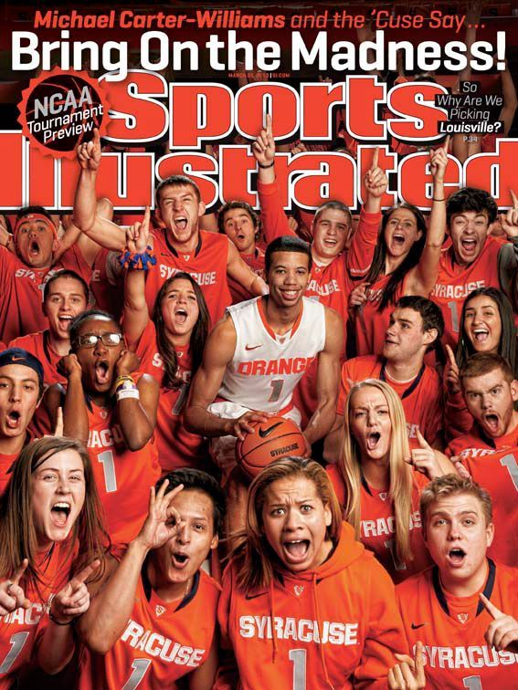 This Weeks Regional Cover For Sports Illustrated Michael Carter Sports Illustrated Syracuse