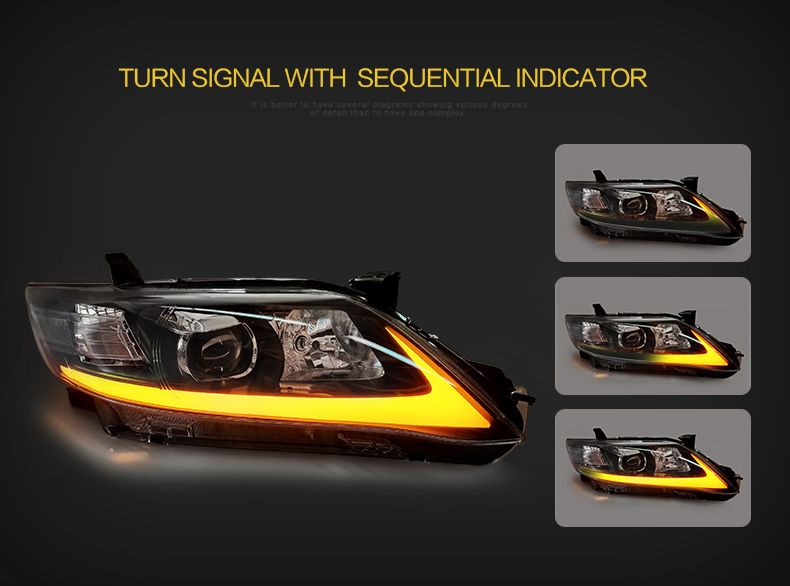 This Item Is Vland Ledheadlight Master Graph You Can See More Carefully And The Stesmer Light Show Vland Carlamp Toyota To Toyota Camry Camry Camry 2009