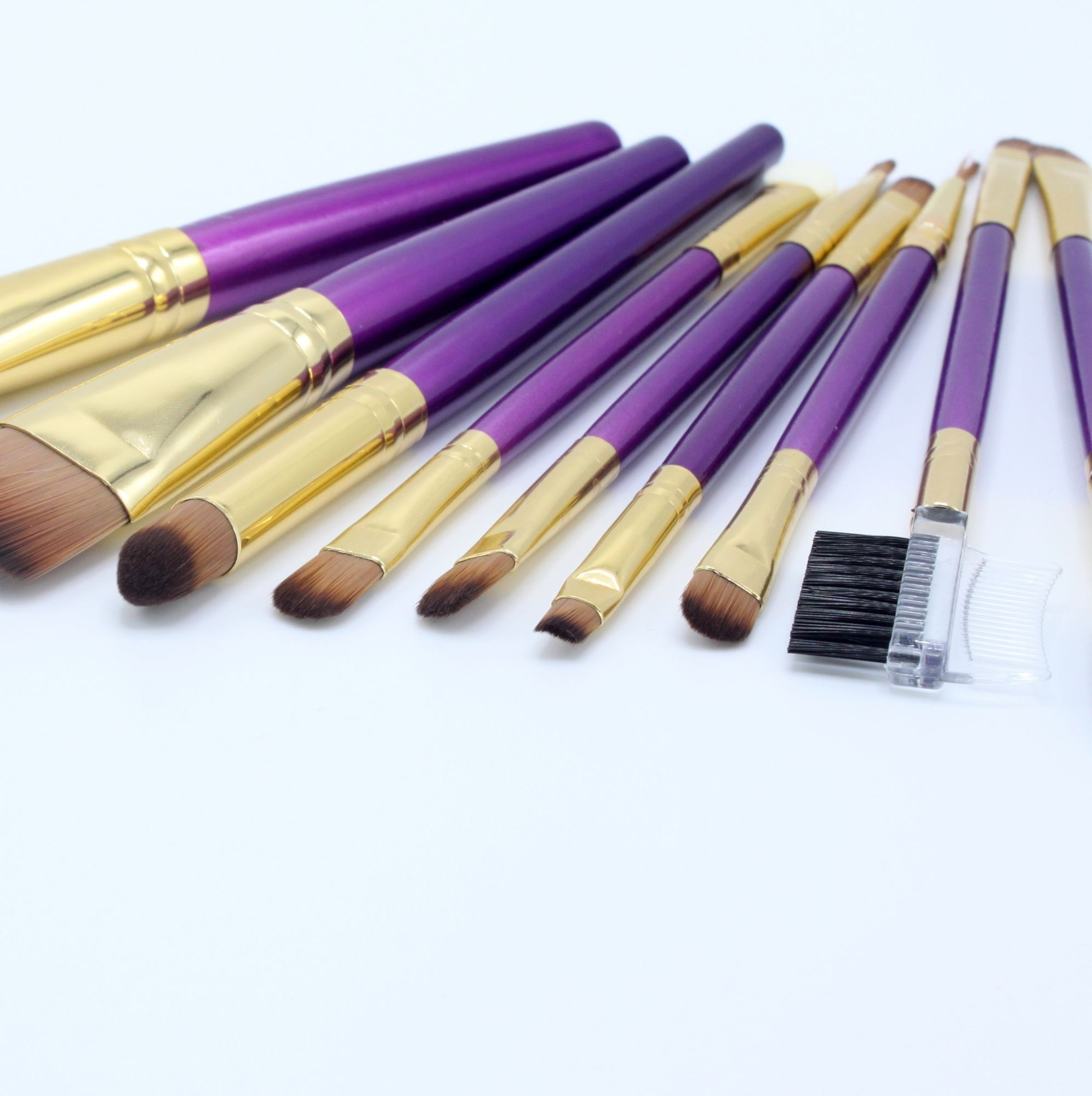 Makeup Brushes 9 Pieces Cosmetics Professional Make Up