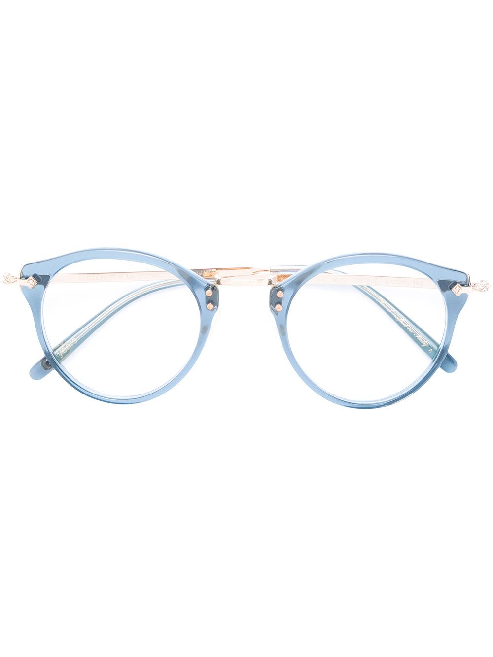 6549fc55d0ae Oliver Peoples round-frame Glasses in 2019