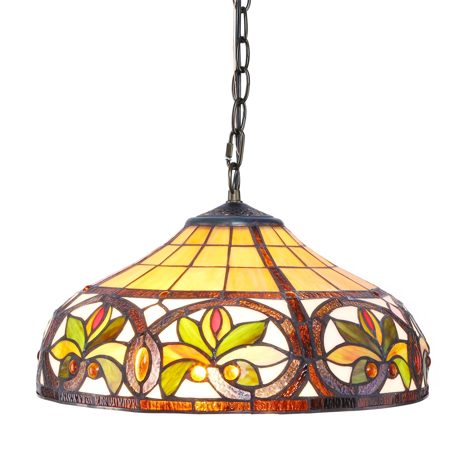 1908 Studios Sunrise Tiffany Hanging Lamp Click Image For More Details This Is An Affilia Hanging Lamp Hanging Pendant Lamp Hanging Pendant Lights Kitchen