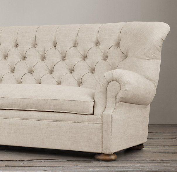 Leather Sofas Preston Lancashire: 8' Churchill Upholstered Sofa