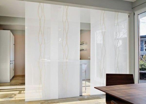 Separar ambientes con paneles japoneses proyectos para espacios reducidos pinterest - Paneles para separar espacios ...