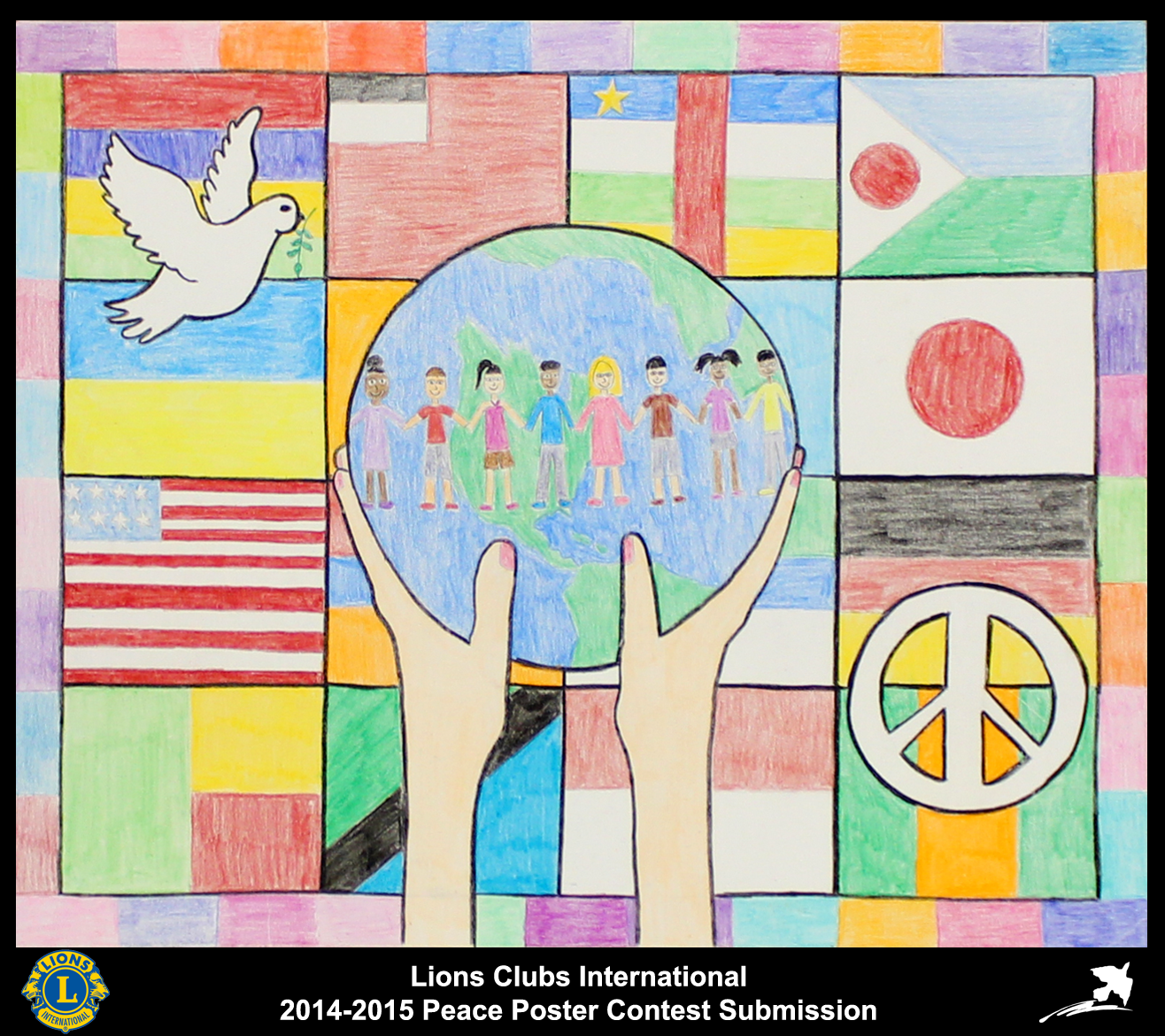 201415 Lions Clubs International Peace Poster Competition