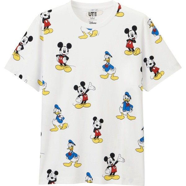 Uniqlo Men S Disney Project Graphic T Shirt 15 Liked On Polyvore Featuring Men S Fashion Men S Clothing Men S Shirts Men S T Shirts Polyvore Uniql