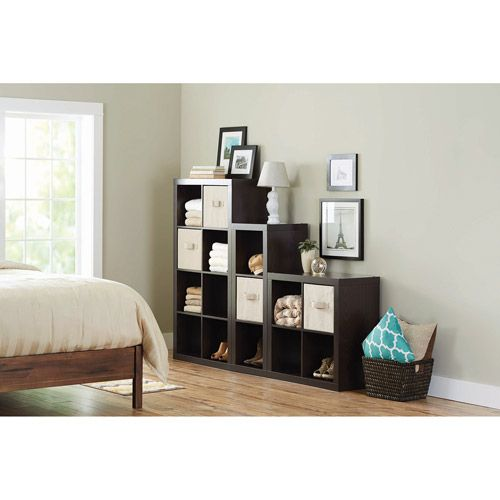 Walmart: Better Homes And Gardens Organizer, Staggered Wall Unit, Multiple  Colors