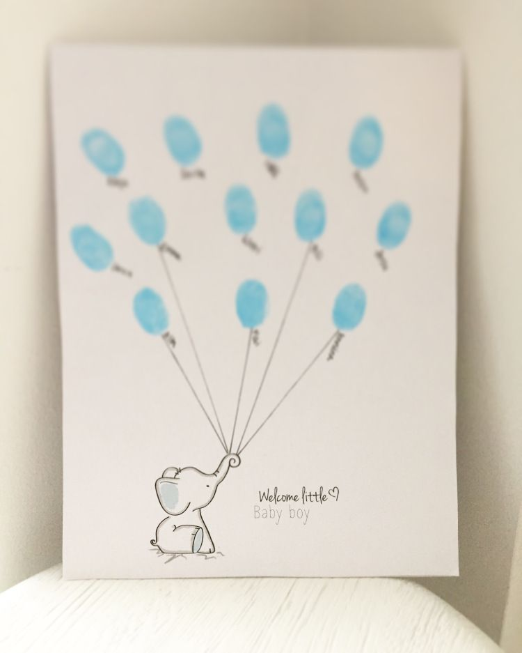 Babyshower card