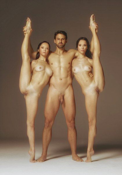 yoga couples naked for