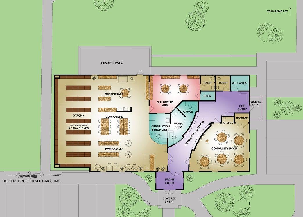 Small library floor plans floorplan floor plans pinterest - Small spaces big ideas plan ...