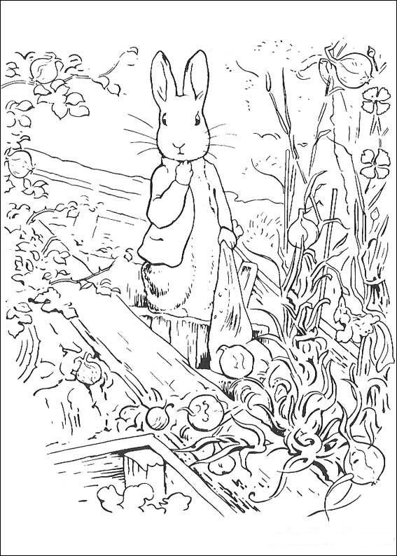 29 Coloring Pages Of Peter Rabbit On Kids N Fun Co Uk Op Kids N Fun Vind Je Altijd De Leukste Kleurplat Rabbit Colors Peter Rabbit And Friends Colouring Pages
