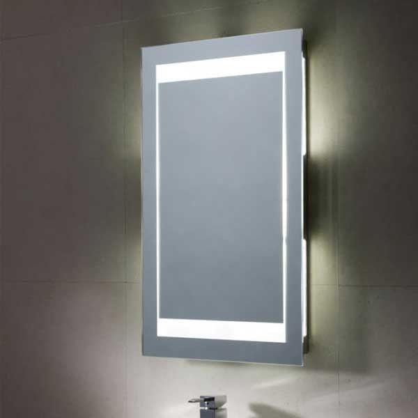 Bathroom Mirrors Kelowna mood backlit mirror with ambi light' | get the look | luxury