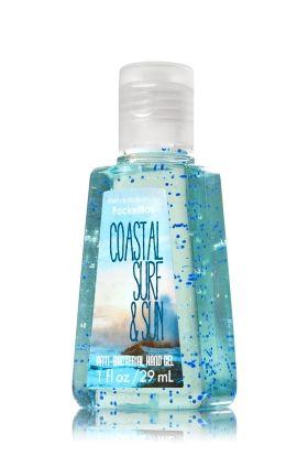 Coastal Surf Amp Sun Pocketbac Sanitizing Hand Gel Anti