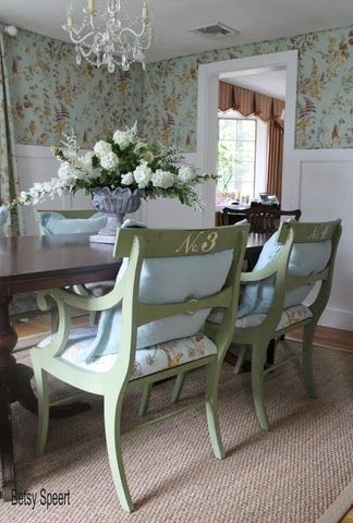 Betsy Speert's Blog How To Reupholster Dining Chairs With A Comfy Unique Restoring Dining Room Table Decorating Inspiration