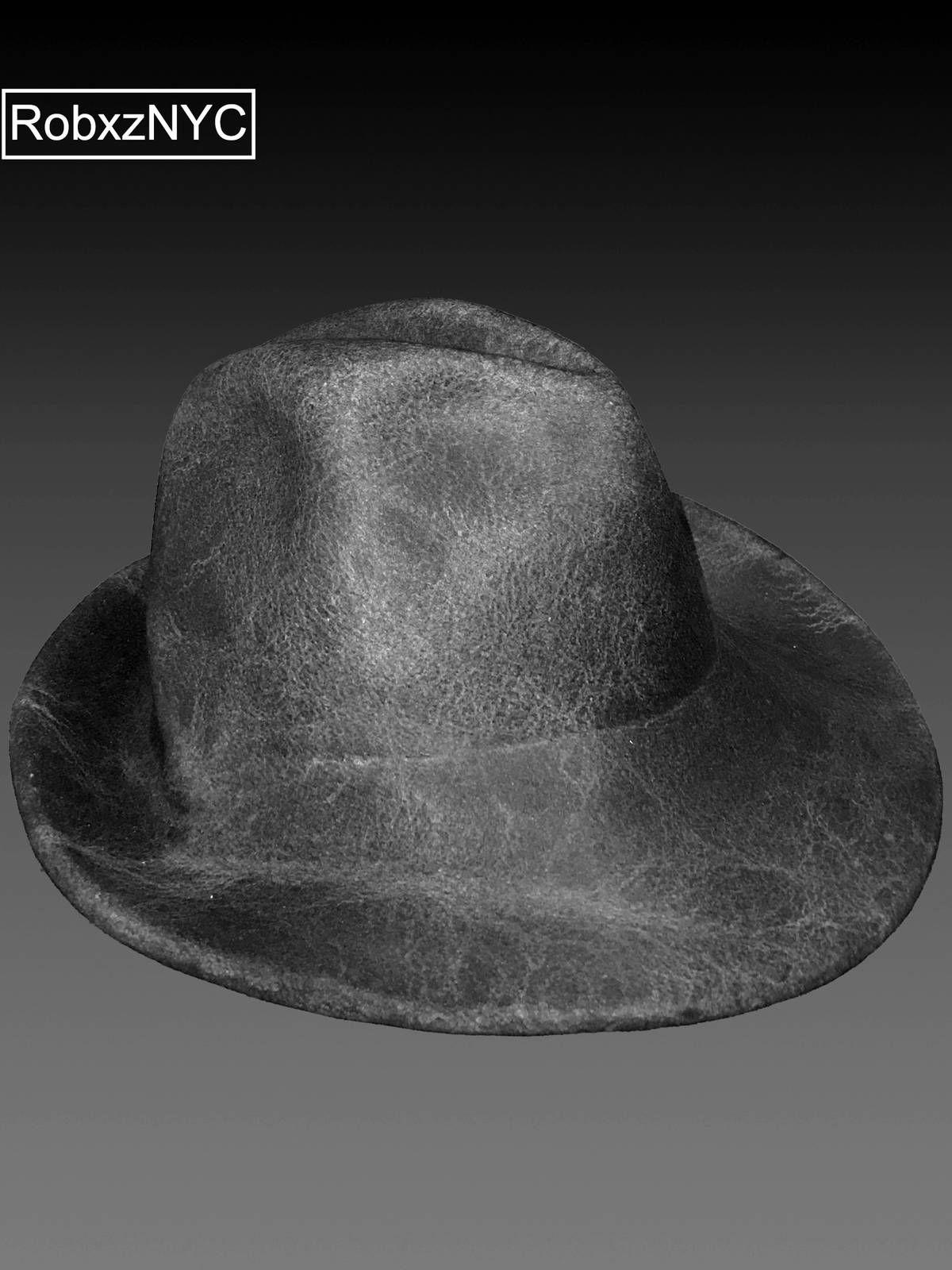 Reinhard Plank  350 Grey Waxed Felt Fedora Hat L NWT Size one size - Hats  for db411af9a54