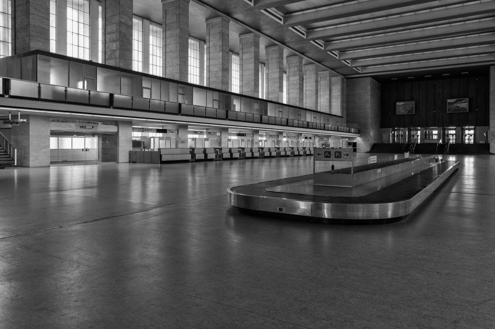 Berlin Tempelhof Airport German Flughafen Originally Built Reconstruction In