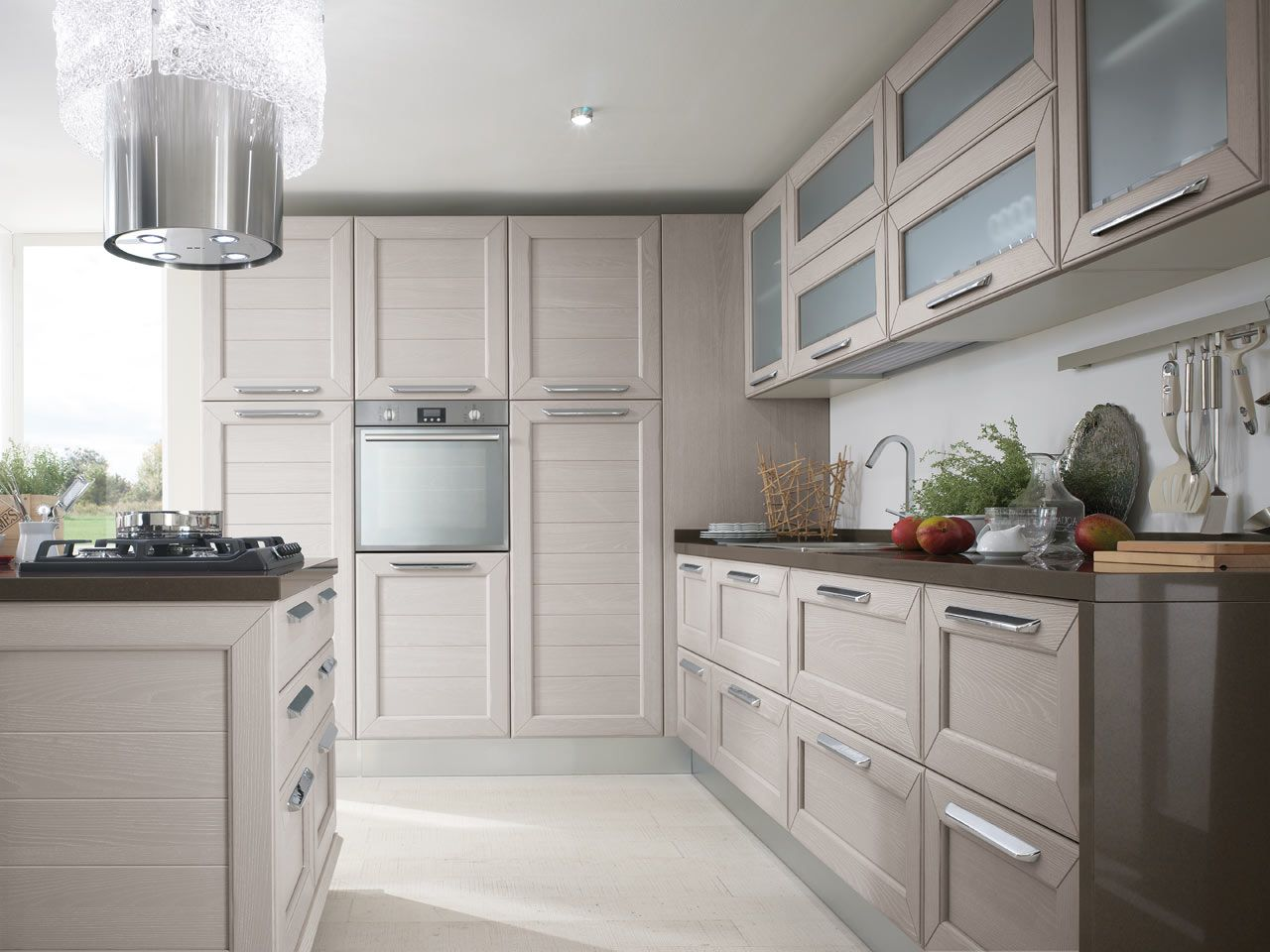 CLAUDIA - Cucina Lube Classica | Solid wood kitchens, Solid wood and ...
