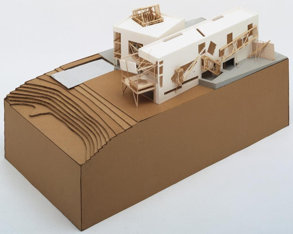 Frank Gehry Familian Residence Santa M Nica California 1978  # Muebles De Frank Gehry