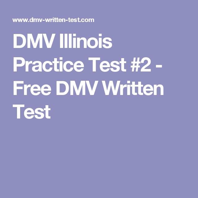 DMV Illinois Practice Test #2 - Free DMV Written Test | dmv