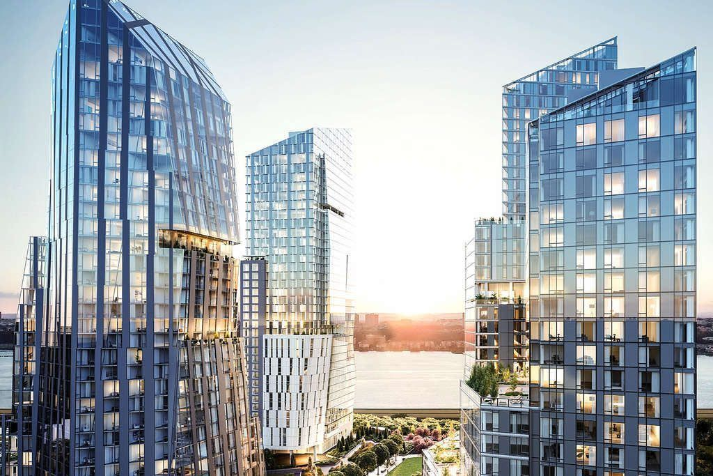First look at the interiors of Waterline Square's trio of