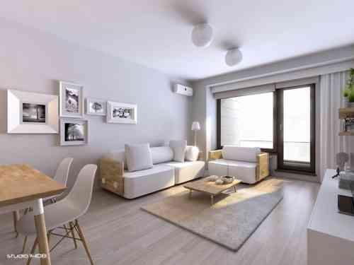 Déco salon gris et blanc  donnez vie à votre intérieur Salon gris