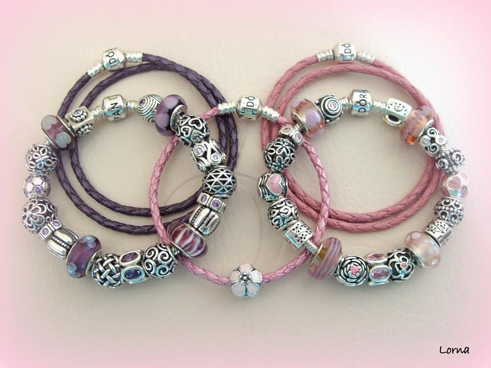 Beautiful pink and purple PANDORA bracelets! Thanks for sharing ) MyPANDORA PANDORAloves