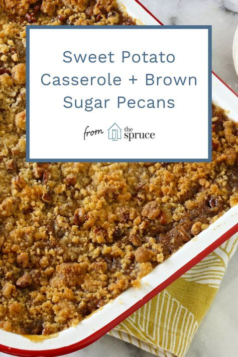 How to Make Sweet Potato Casserole With Pecan Stre