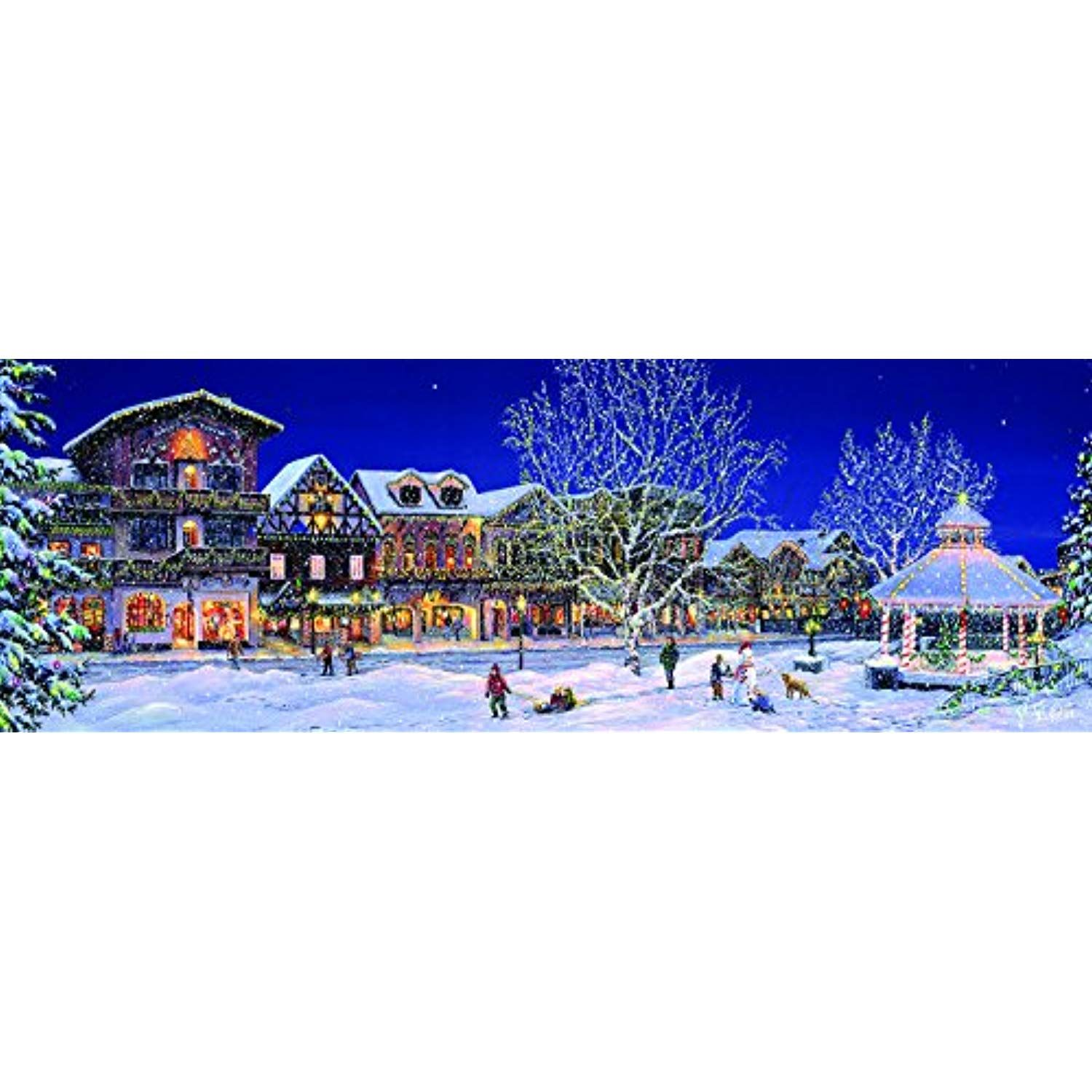Holiday Lights 500 pc Jigsaw Puzzle by SunsOut