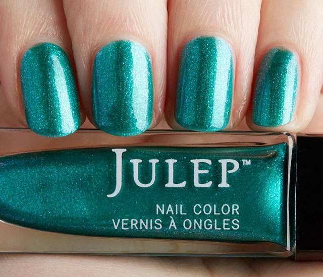 Julep Sierra: Everglades iridescent chrome   Going Green   Pinterest ...