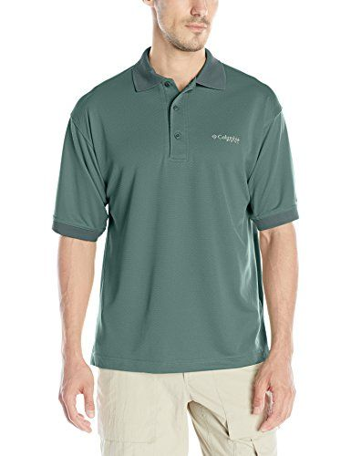 62f37a28 Columbia Sportswear Mens Perfect Cast Polo Shirt Pond XXLarge * Click on  the image for additional details.(This is an Amazon affiliate link and I  receive a ...