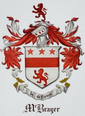 McBrayer family crest | Family Crests | Family crest, Family