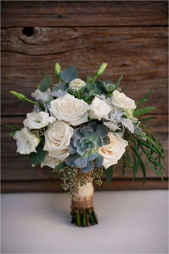 rose and succulent wedding bouquet wedding chicks Source by weddingchicks fashion