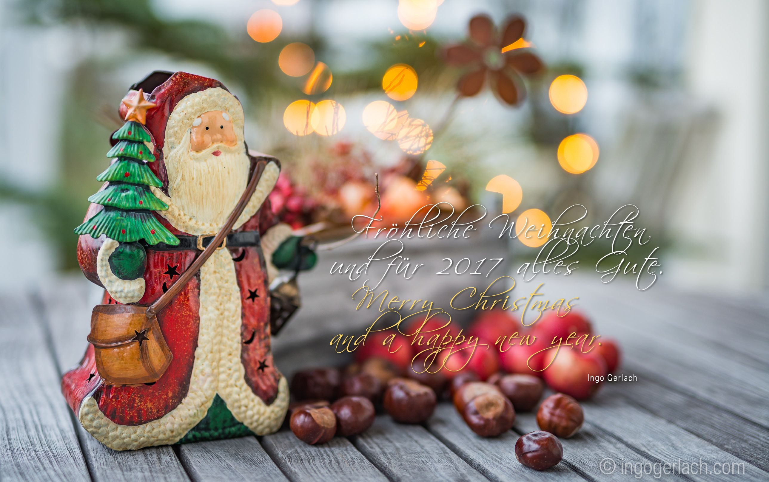 Best wishes for all my Friends.   Fröhliche Weihnachten und ein gutes erfolgreiches Jahr mit vielen wunderbaren Fotomotiven.     www.ingogerlach.com