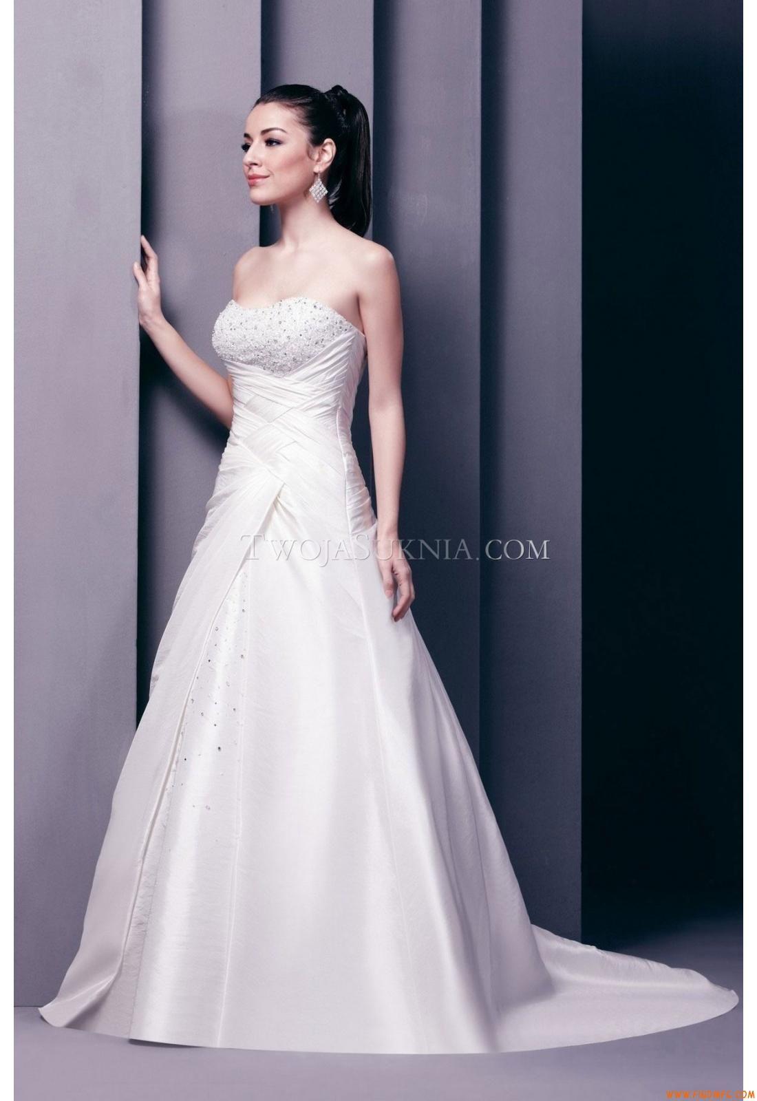 Vestidos de noiva D'Zage D31106 2012