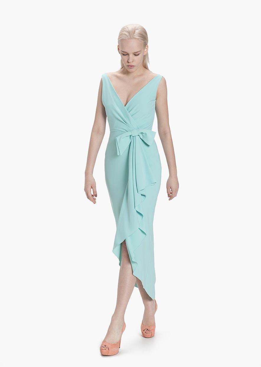 Vestido Fruncido Etxart&Panno Tienda Online | wear deep blue ...