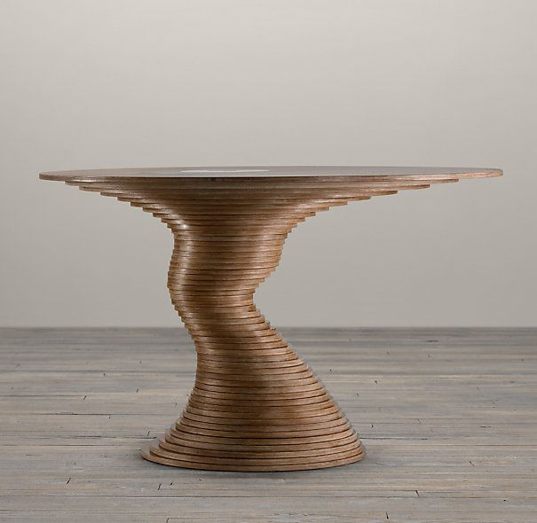 Stack 50 Table | Round Dining Tables | Restoration Hardware