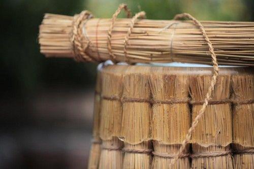 Gina hsu + nagaaki shaw - Ghế làm từ Rơm
