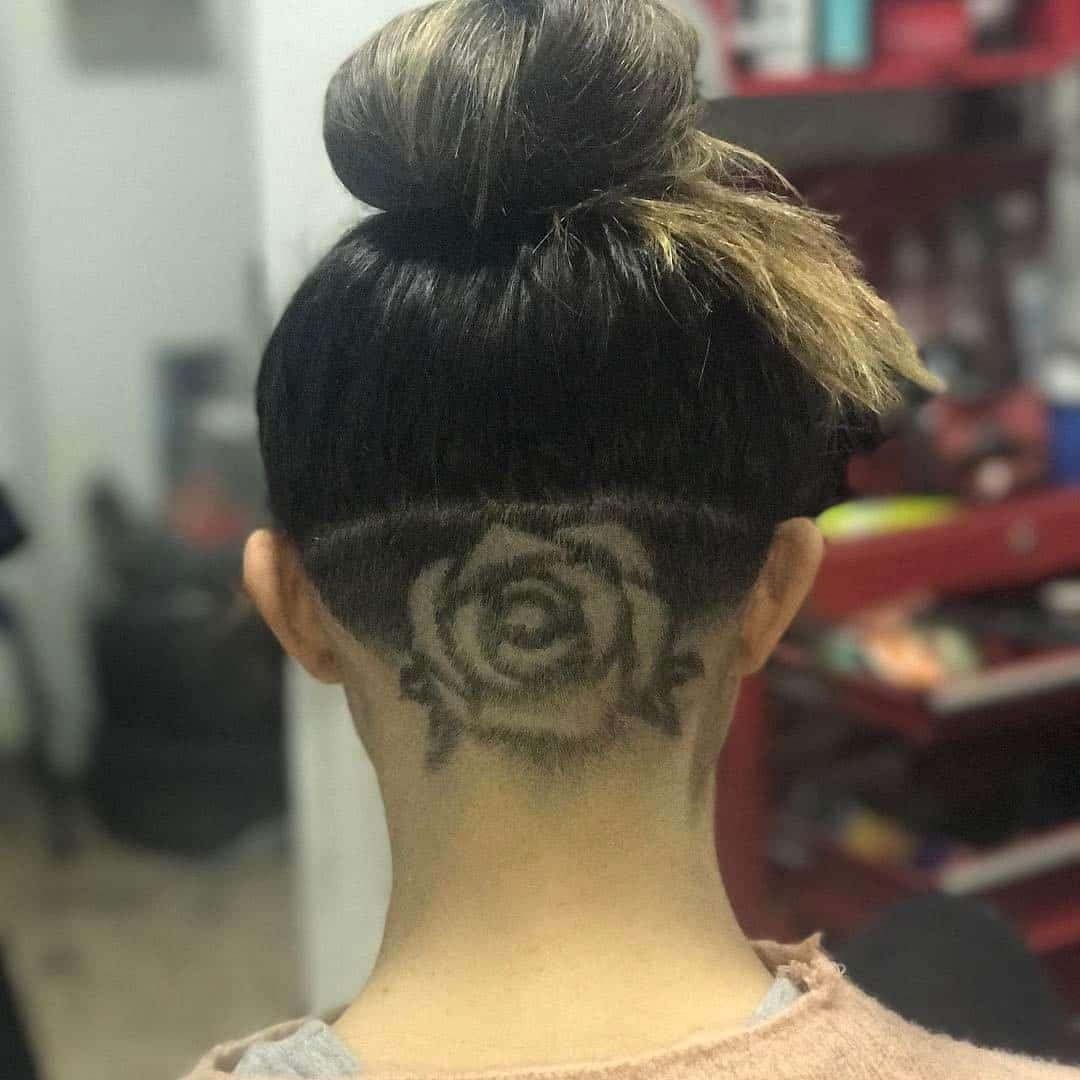 30 cool hair tattoo designs for ladies hair tattoo