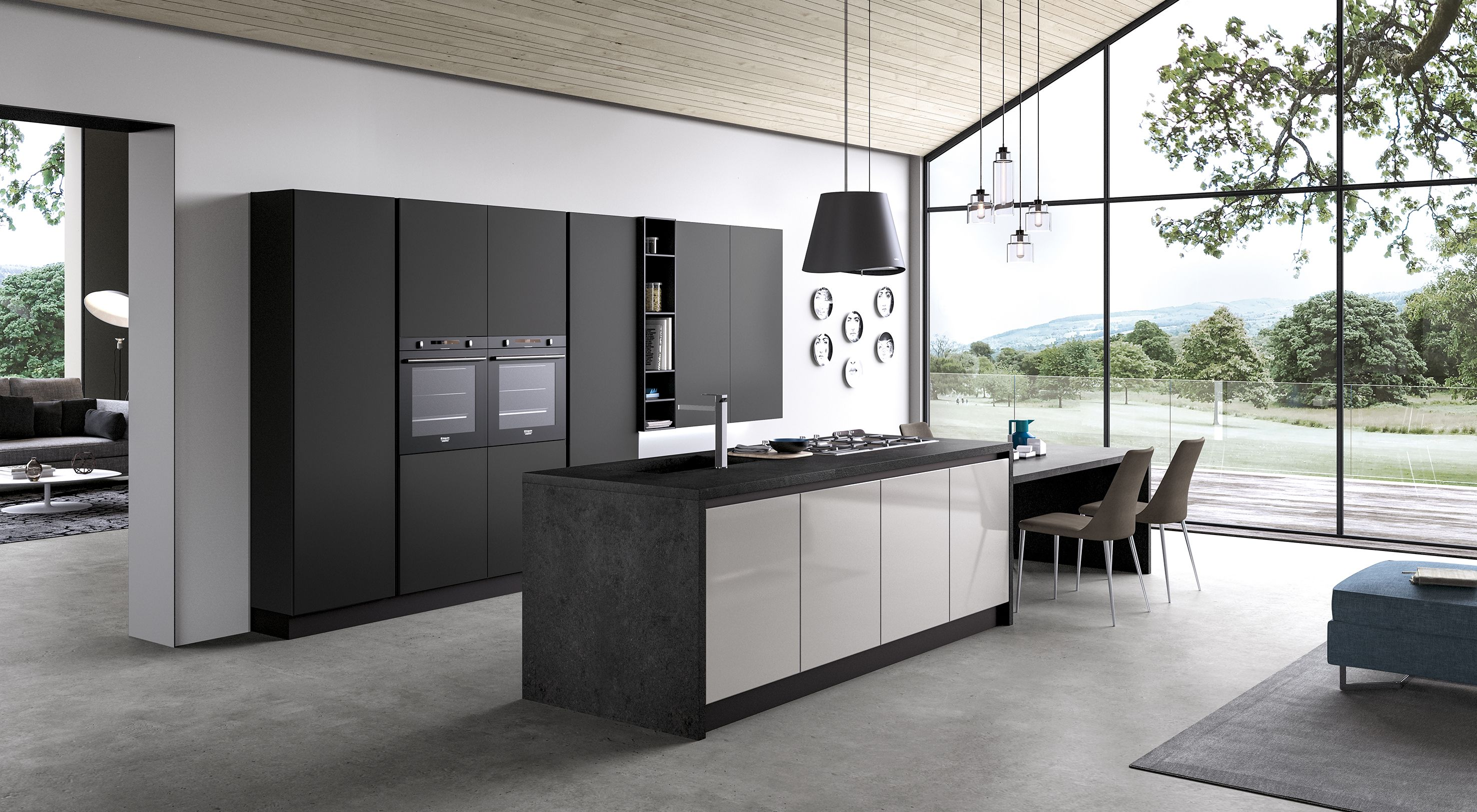 Cucine moderne che uniscono design funzionalit e qualit - Cucine idee e soluzioni ...