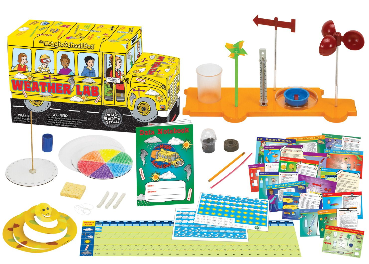 Young Scientists Club The Magic School Bus Weather Lab
