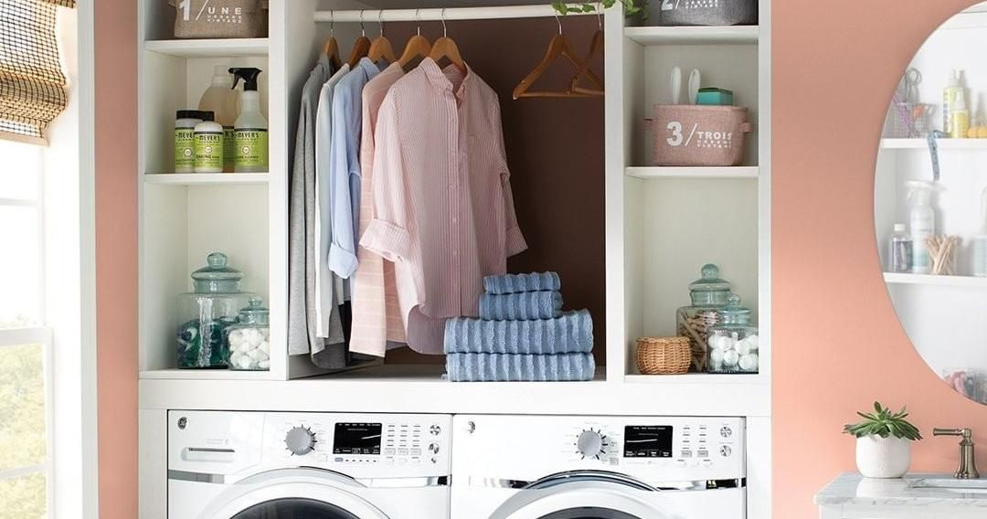 Pro Tip Use The Extra Bathroom Closet As The Laundry Room And Spare Yourself From That Treacherous Laundry Baske Home Decor Inspiration Home Living Room Decor