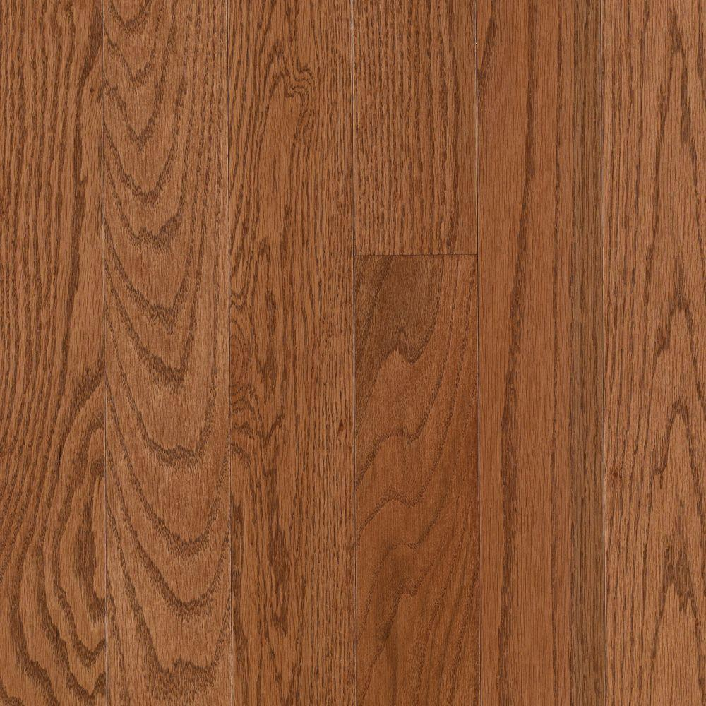 Mohawk Raymore Oak Gunstock 3 4 In Thick X 3 1 4 In Wide X Random Length Solid Hardwood Flooring 17 6 Sq Ft Solid Hardwood Floors Hardwood Floors Hardwood