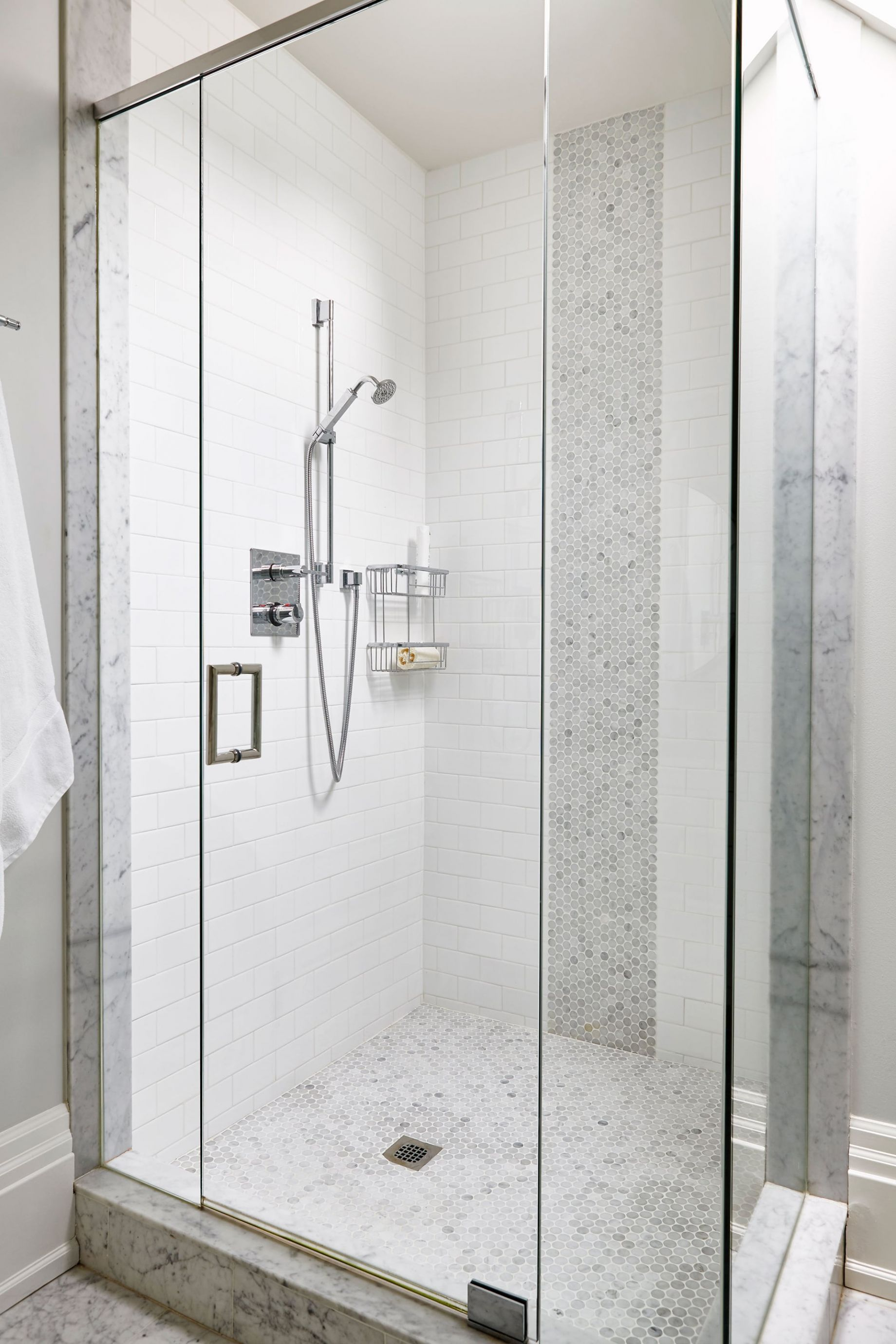 Stand up shower incased in glass | Master bath | Pinterest | Twins ...