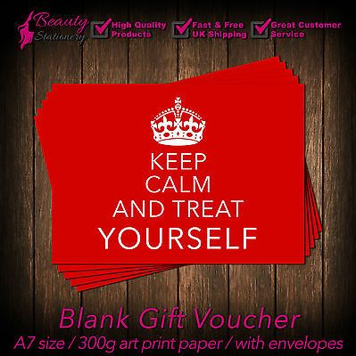 Beauty Salon Gift Voucher Template Blank Card Coupon Nail