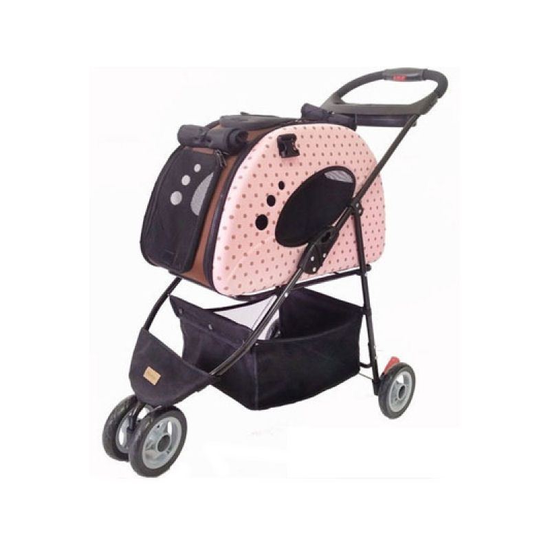 Cat Dog Carrier Stroller