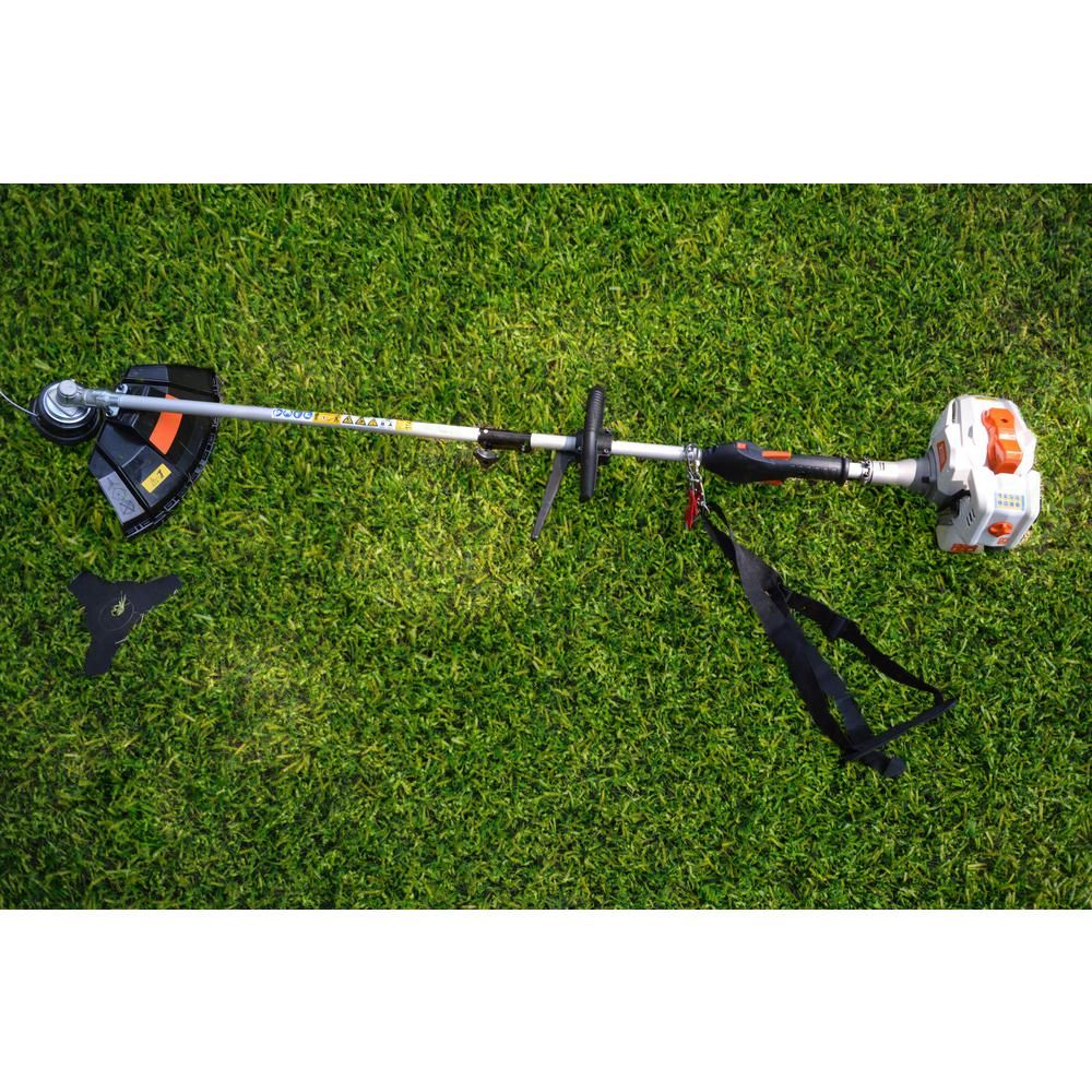 Sunseeker 2 Cycle 26 Cc Straight Shaft Gas String Trimmer And Brush