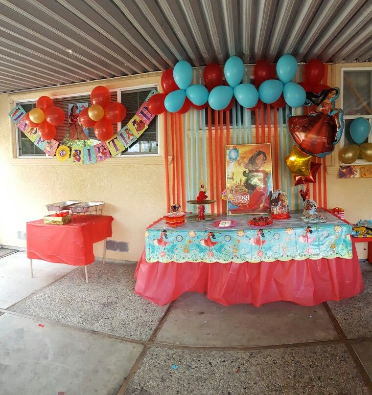 Elena Of Avalor Birthday Decoration 4th Parties 2nd Wrestling