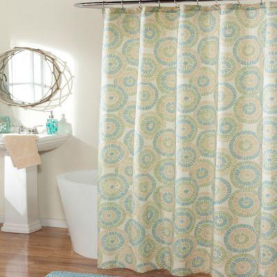Ringo Sea Glass Shower Curtain Bedbathandbeyond Com Shower